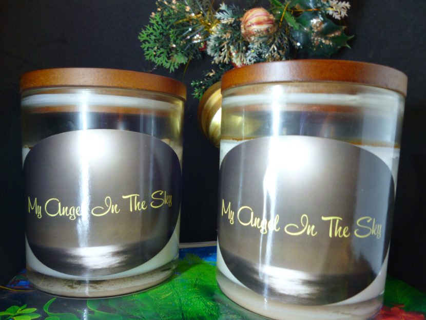 My-angel-in-the-sky-xlarge-candle-x2